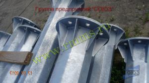 металлические конические опоры